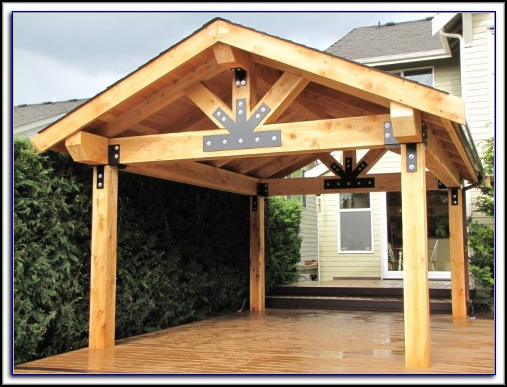 Wooden Patio Cover Kits Uk