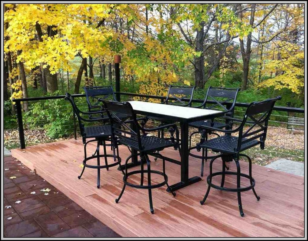 Wrought Iron Outdoor Sets