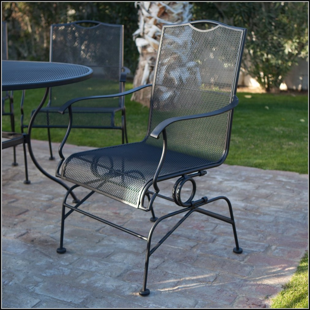 Wrought Iron Patio Furniture Chairs