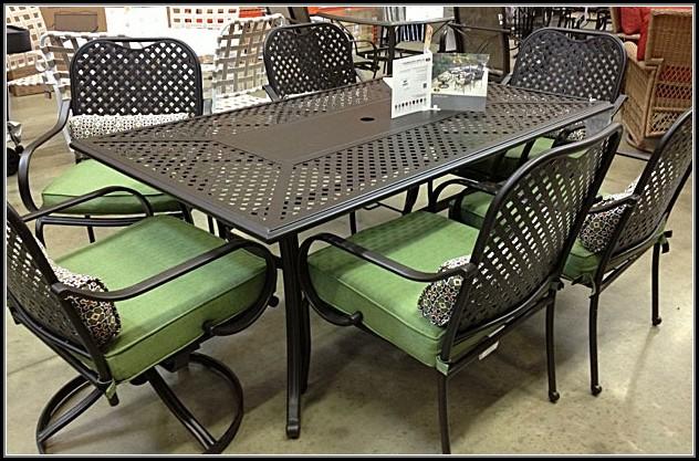 Wrought Iron Patio Furniture Home Depot