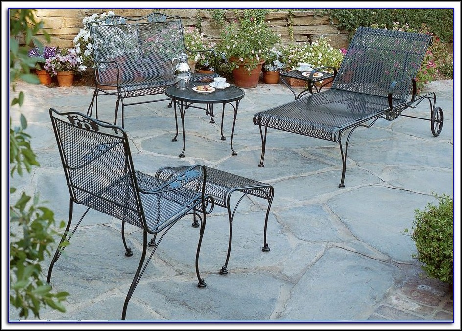 Wrought Iron Patio Set Craigslist