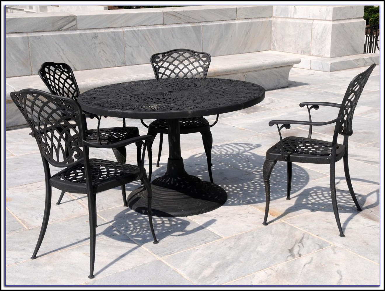Wrought Iron Patio Sets Ebay