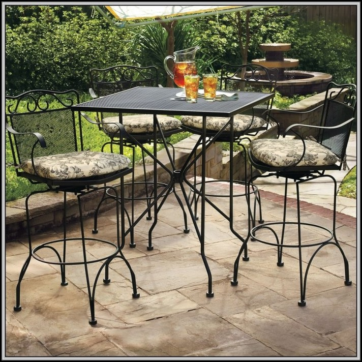 Wrought Iron Patio Sets Home Depot