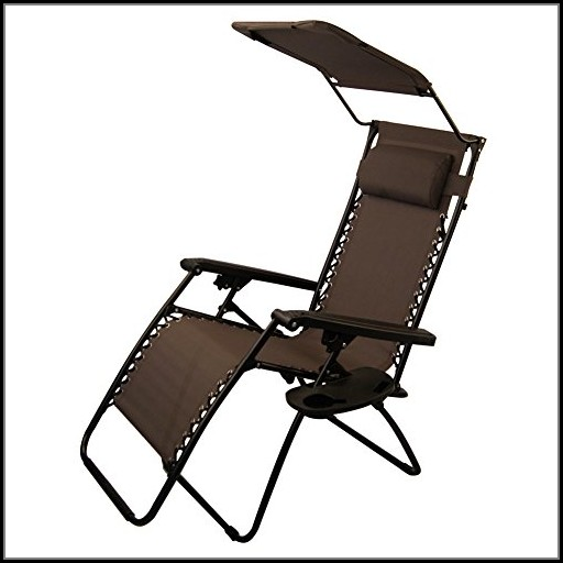 Zero Gravity Outdoor Chair With Canopy