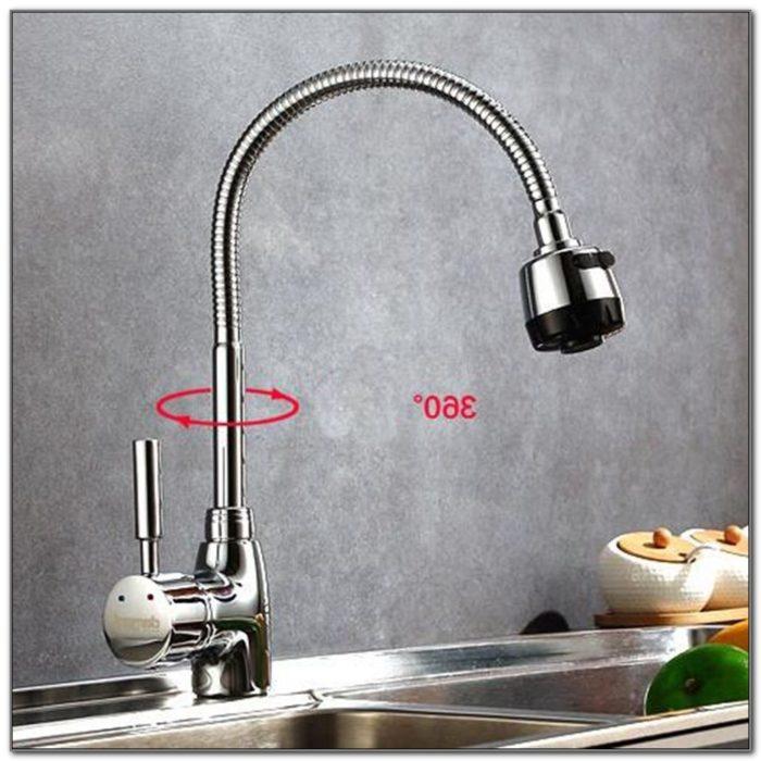 2 Hole Deck Mount Kitchen Faucet