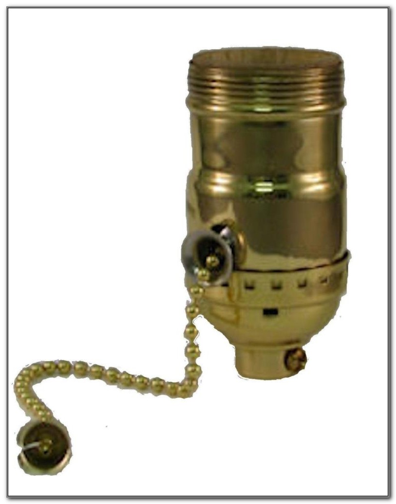 3 Way Lamp Socket Pull Chain