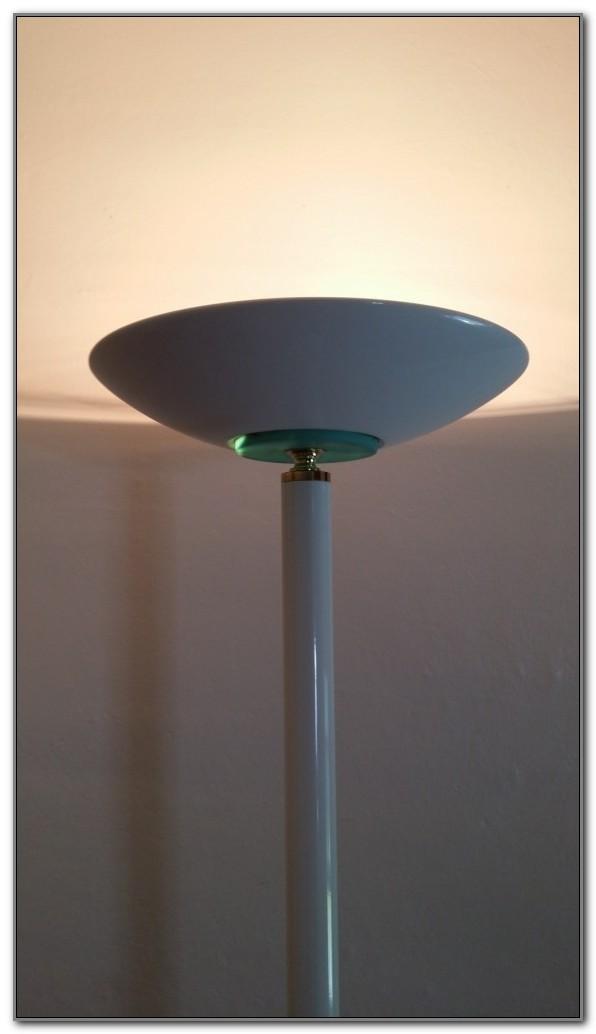 300 Watt Halogen Floor Lamp Black