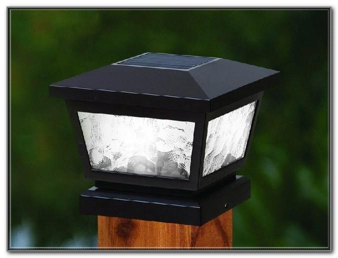 4x4 Deck Post Solar Lights