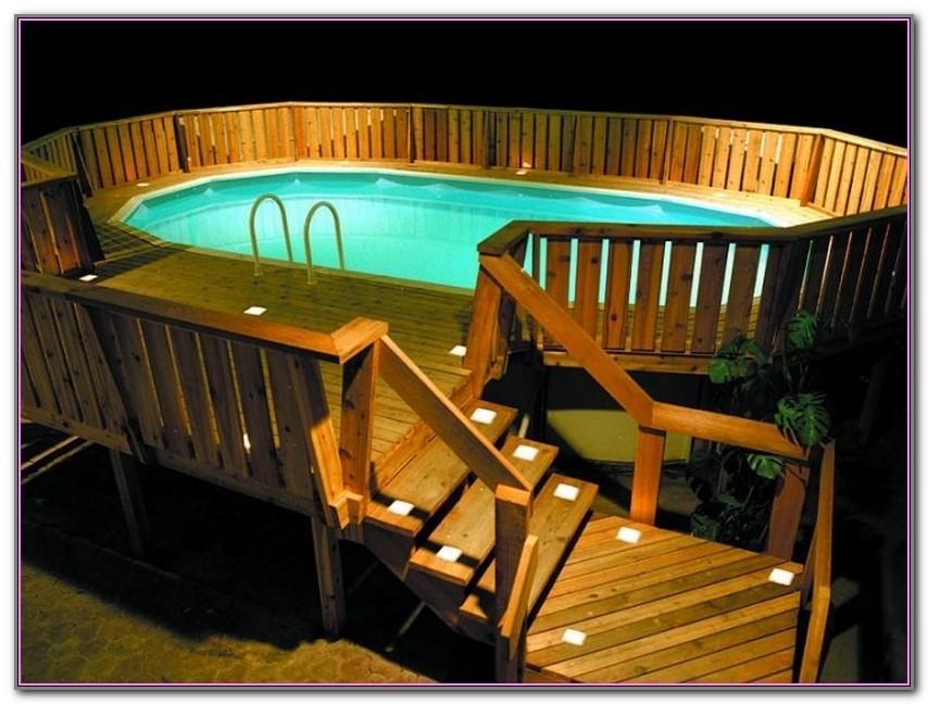 Above Ground Pool Deck Designs Free