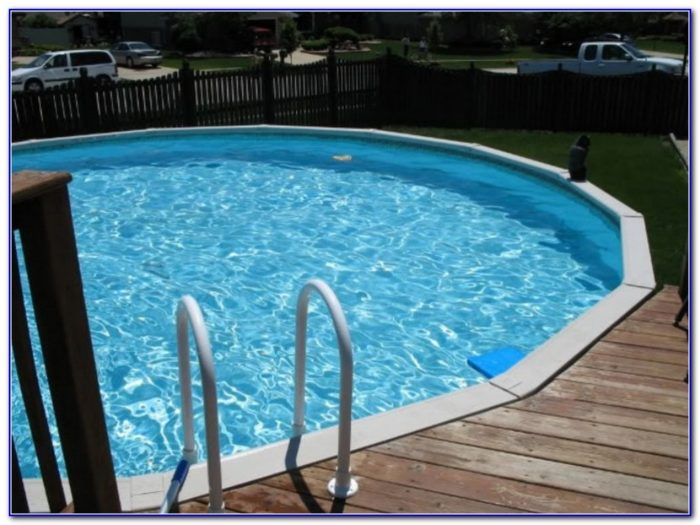 Above Ground Pool Ladders Attached To Deck
