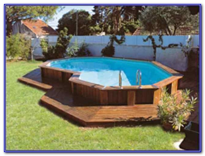 Above Ground Pools With Decks Pics