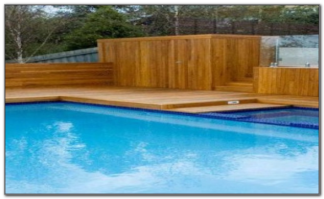 Above Ground Swimming Pool Steps Deck
