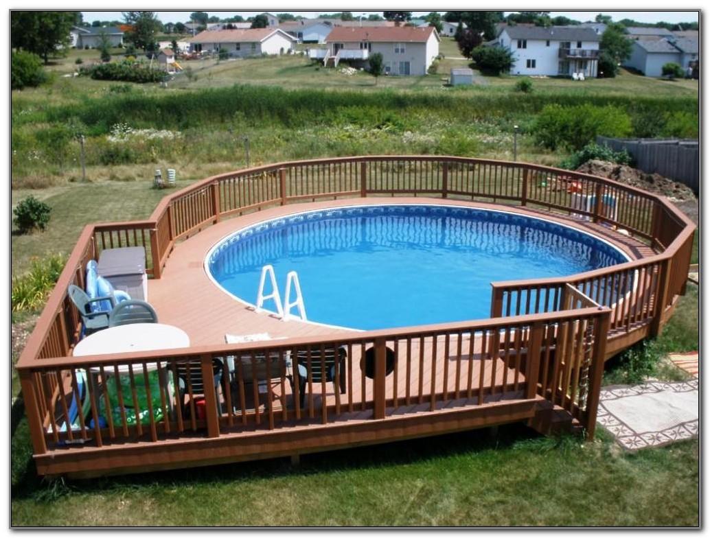 Above The Ground Pool Decks