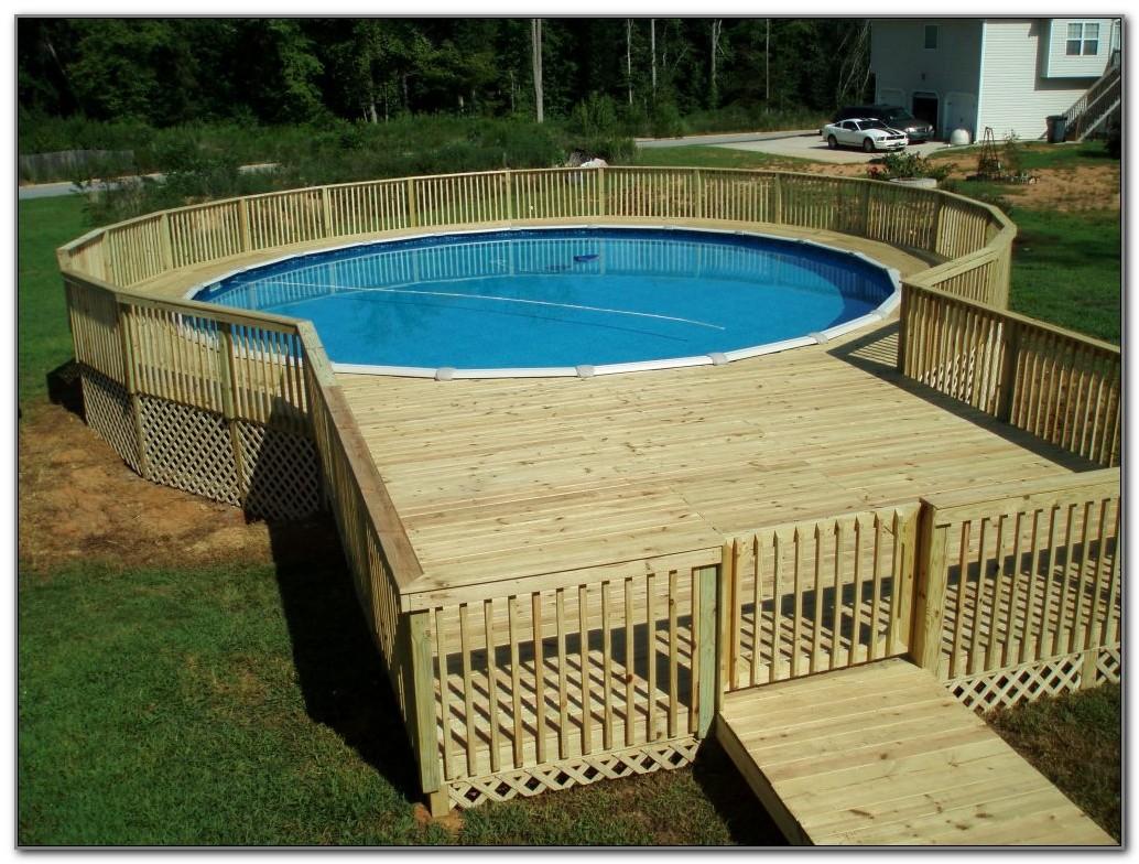 Affordable Pool Deck Ideas