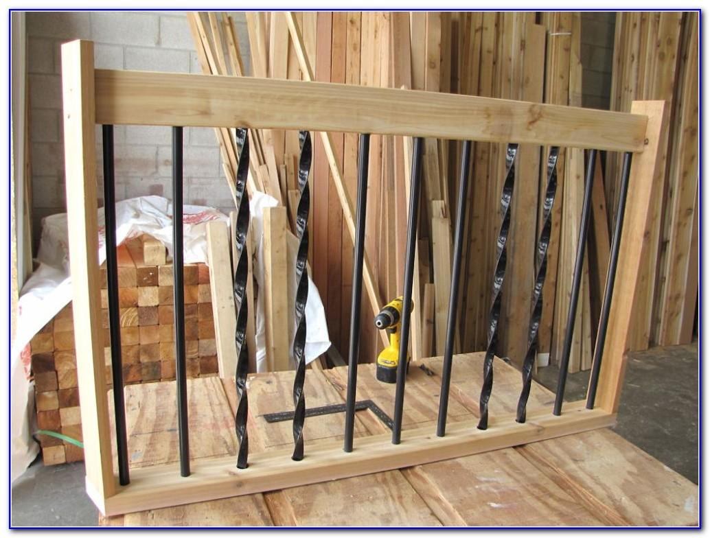 Aluminum Deck Railing Spindles