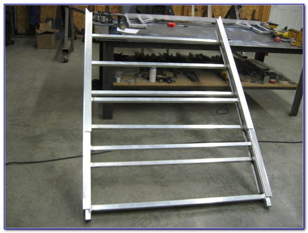 Aluminum Sled Deck Ramp