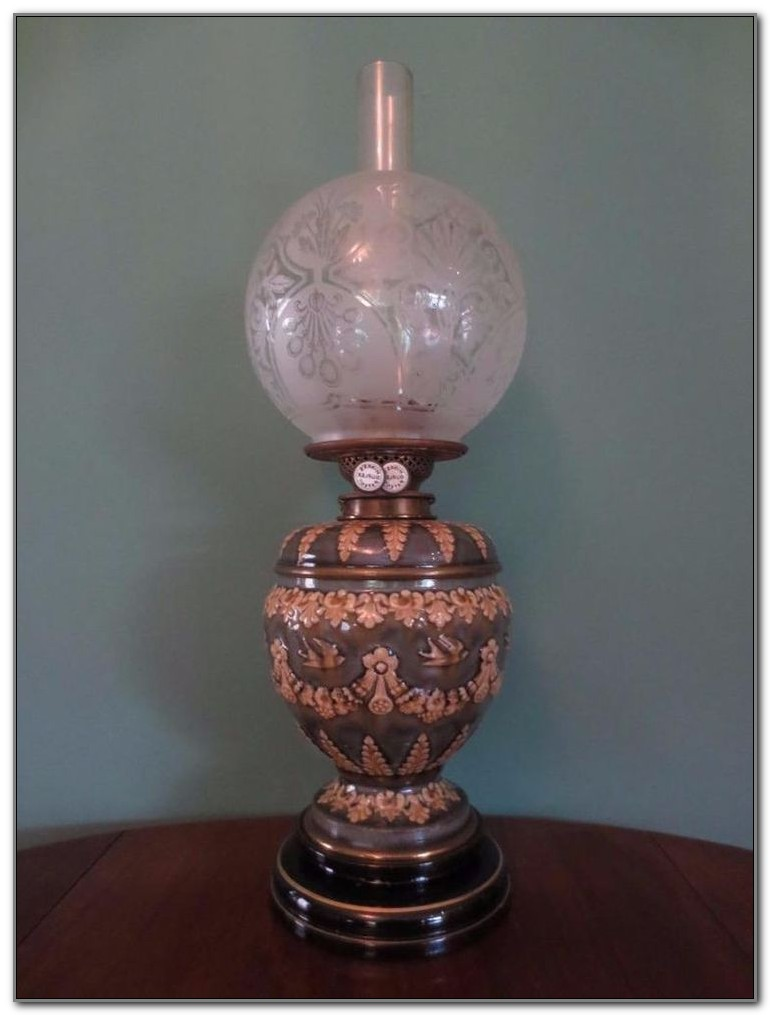 Antique Glass Globes For Lamps