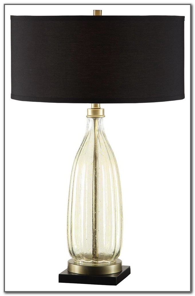 Antique Glass Shade Table Lamps