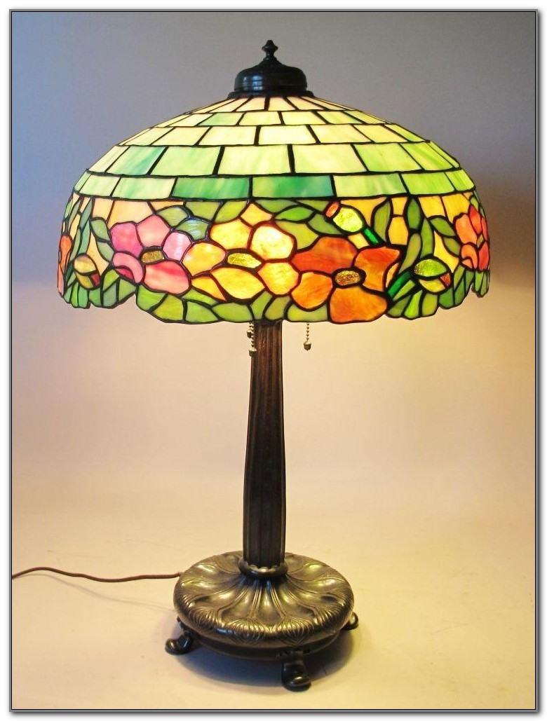 Antique Stained Glass Lamps
