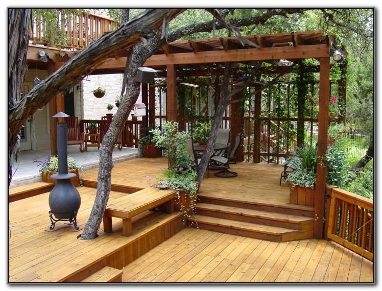 Back Porch Deck Ideas