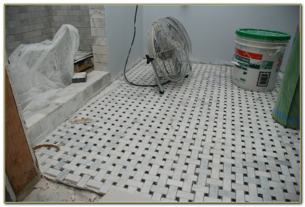 Basket Weave Floor Tile