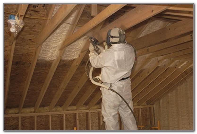 Batt Insulation Under Roof Deck