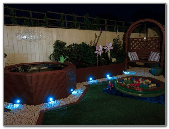 Blue Led Solar Deck Lights Uk