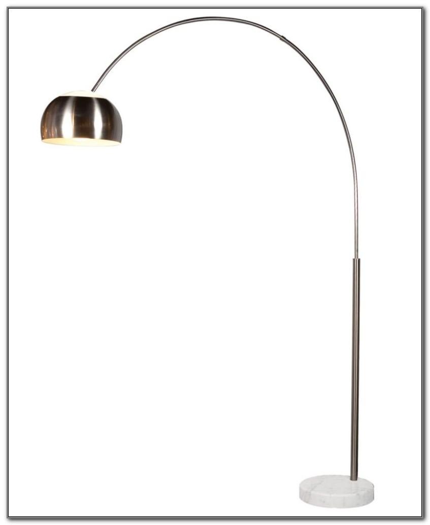 Bronze Arc Floor Lamp