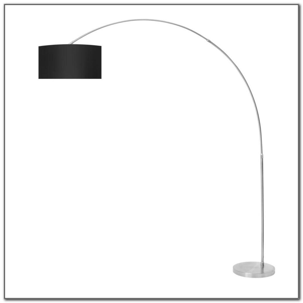 Bronze Finish Arc Floor Lamp