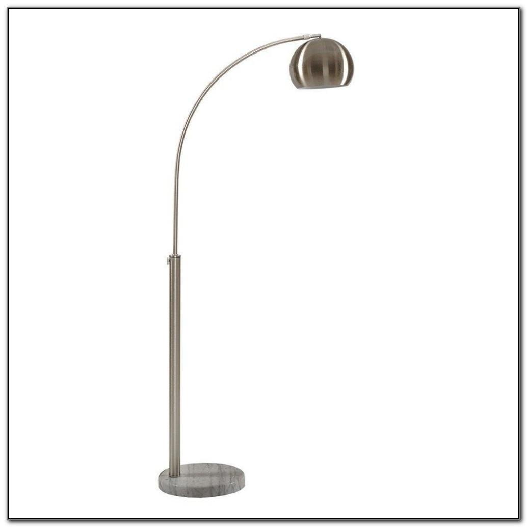 Brushed Nickel Floor Lamp Base