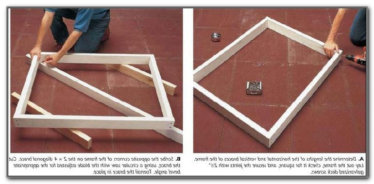 Build A Pool Deck Gate