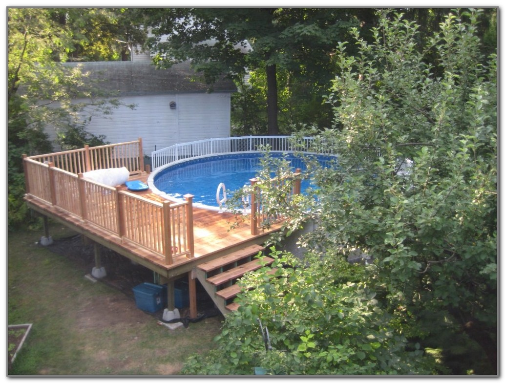 Build A Pool Deck Plans