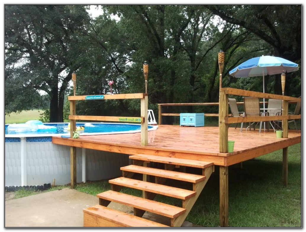 Build A Pool Deck