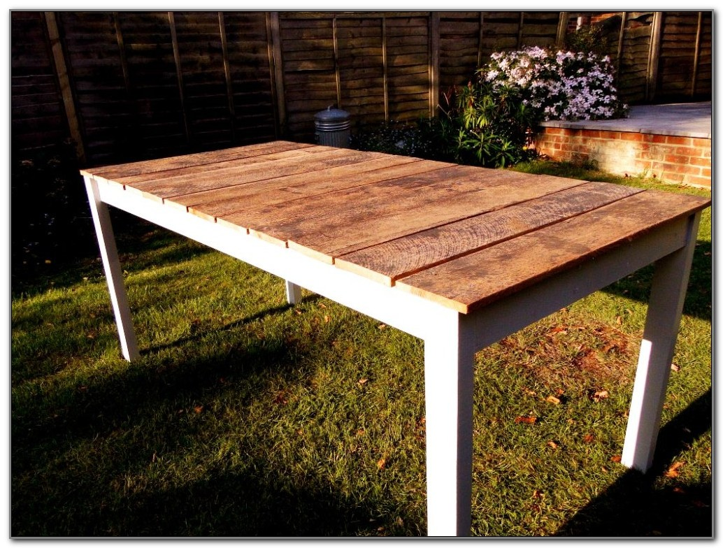 Build Your Own Outdoor Wood Furniture