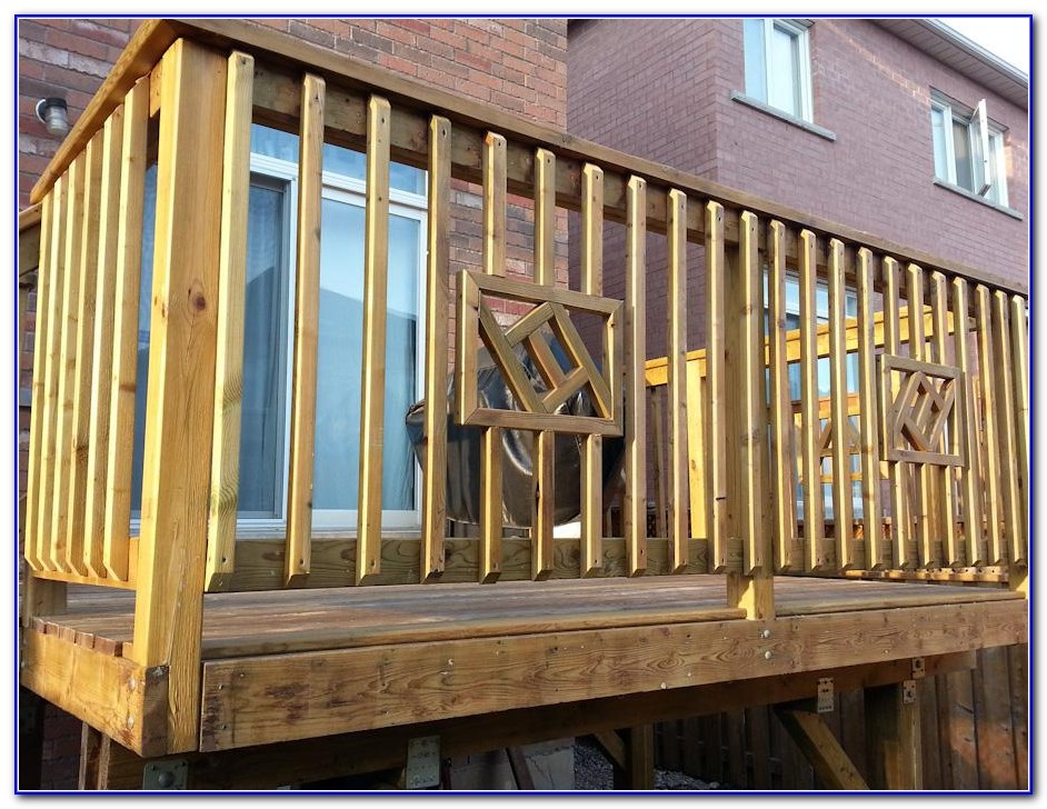 Building A Deck Railing