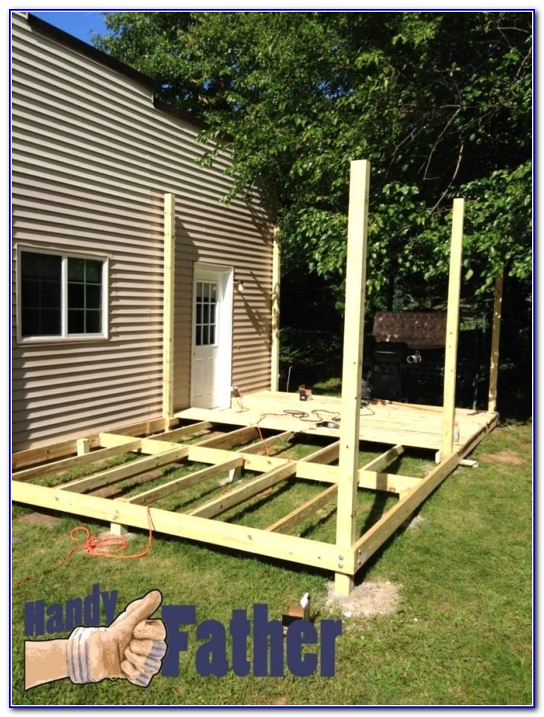 Building Deck Railing Diy