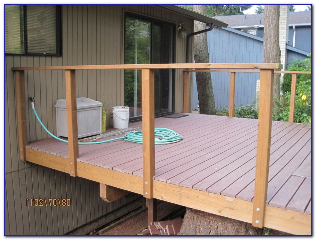 Building Deck Railing Posts