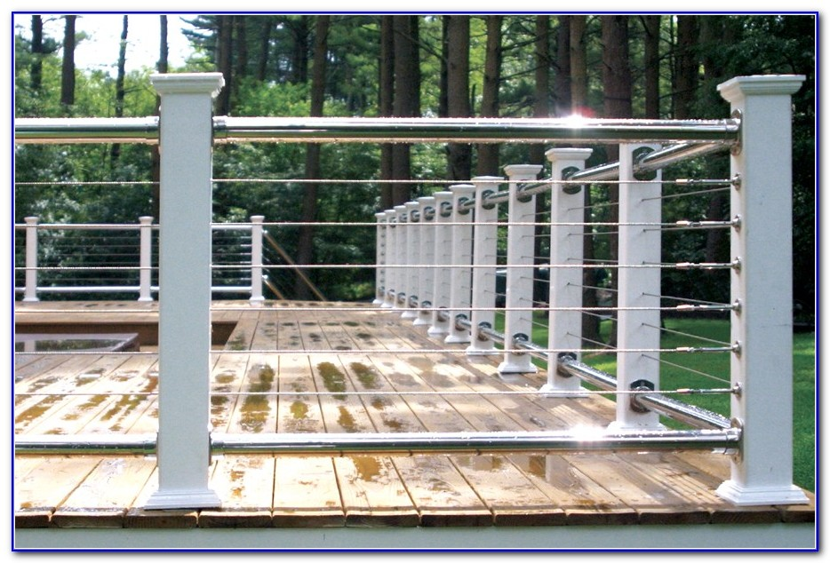 Cable Deck Railings Ideas