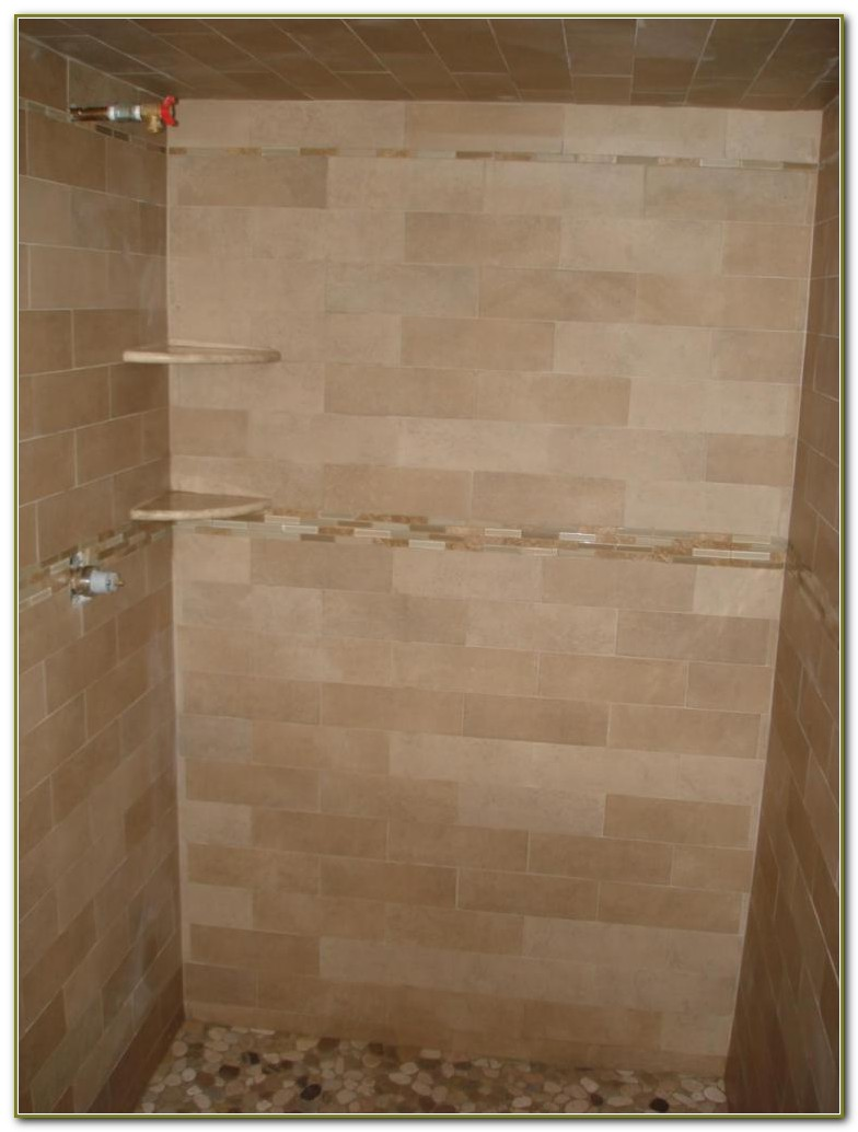 Carrara Marble Subway Tile Bathrooms