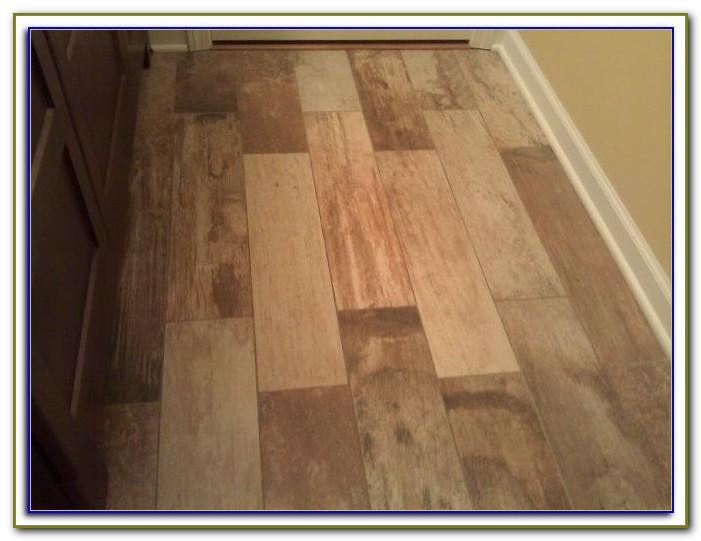 Ceramic Tile With Wood Grain Look