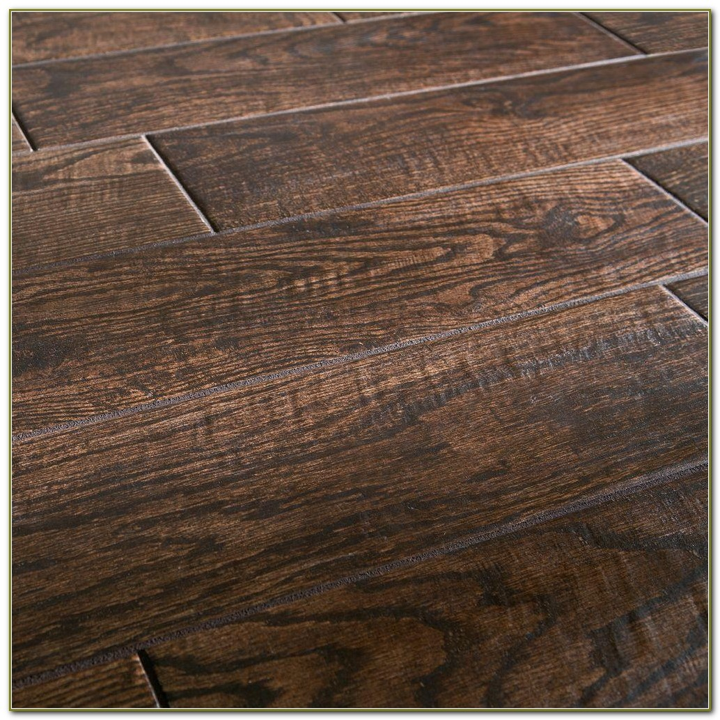 Ceramic Tile Wood Grain Planks