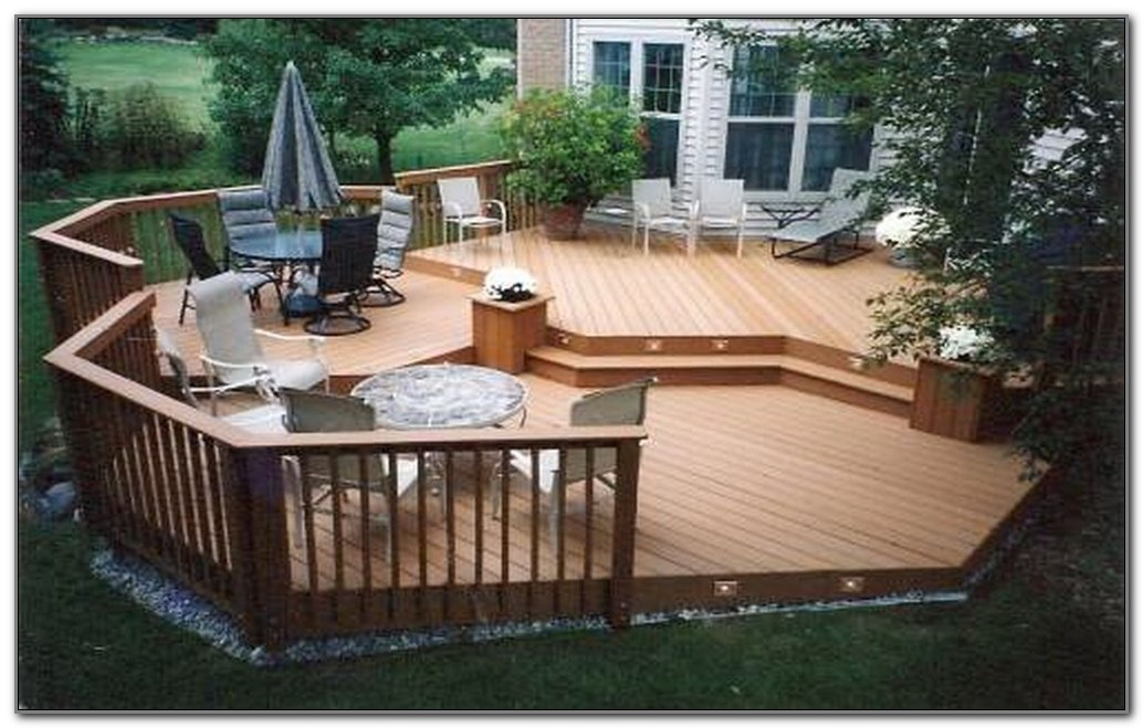 Cheap Wood Deck Ideas