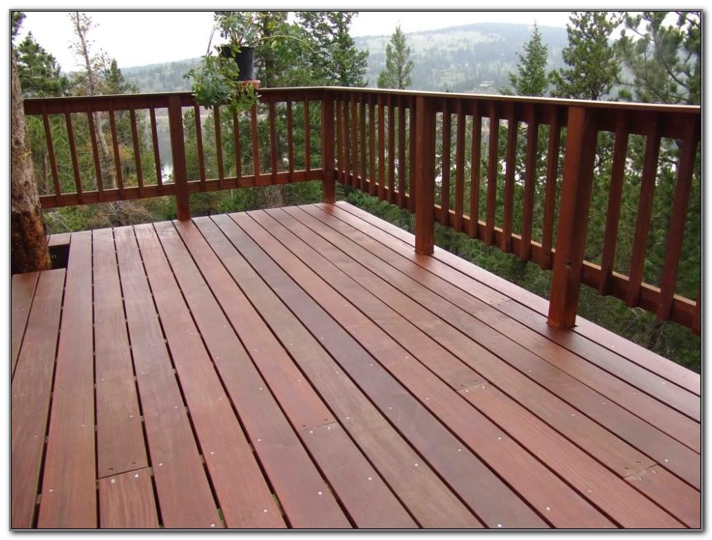 Cheap Wood Deck Railing