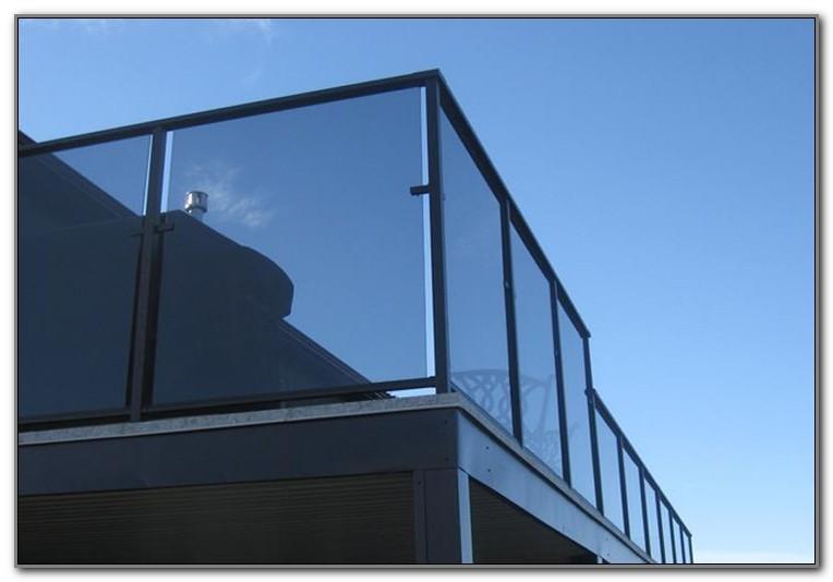 Clear Railings For Decks