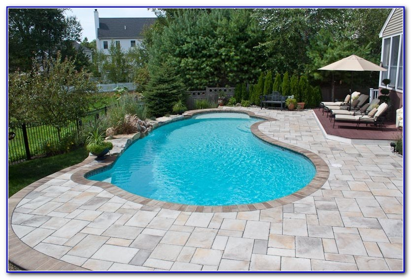 Concrete Paver Pool Deck