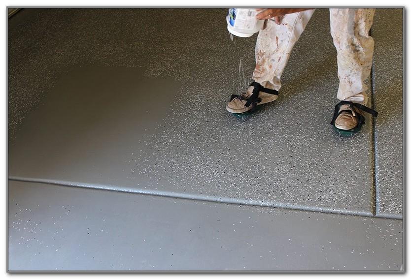 Concrete Pool Deck Paint