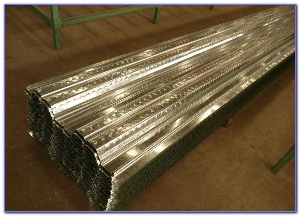 Corrugated Metal Decking For Concrete