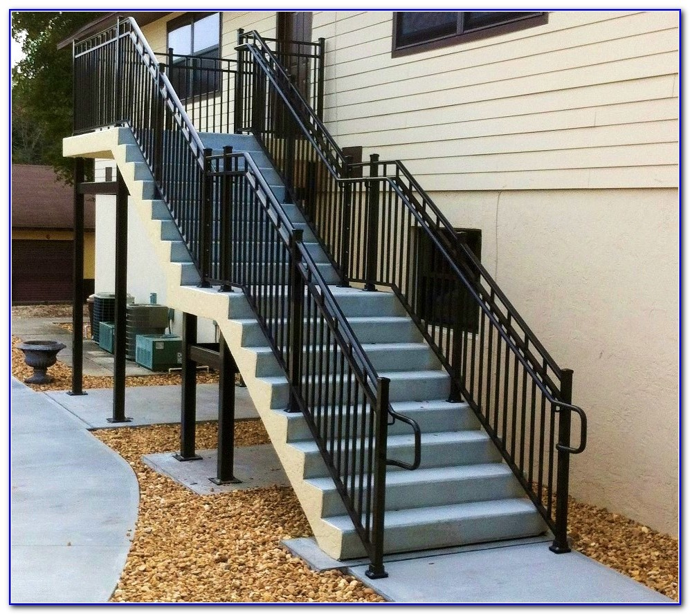Craftsman Deck Railing Designs