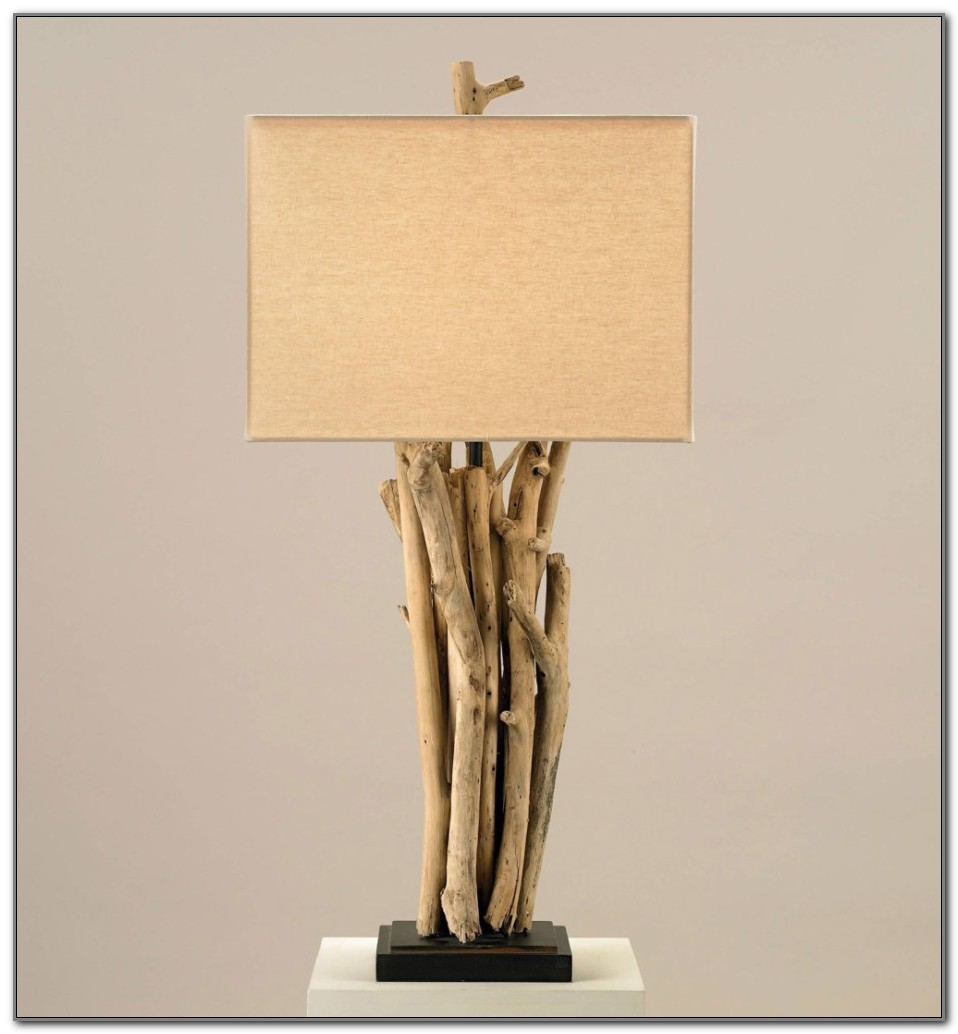 Currey And Company Driftwood Lamp