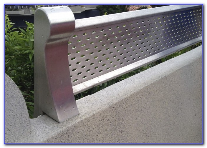 Custom Metal Deck Railings